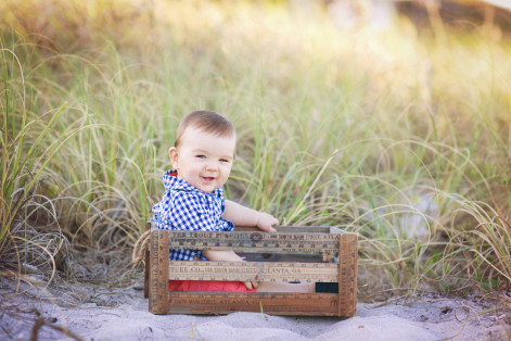beach baby portraits Boca Raton