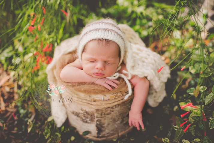 Outdoor newborn session boca raton delray newborn photographer baby wrap newborn photographer parkland wrapped outdoor newborn session south florida
