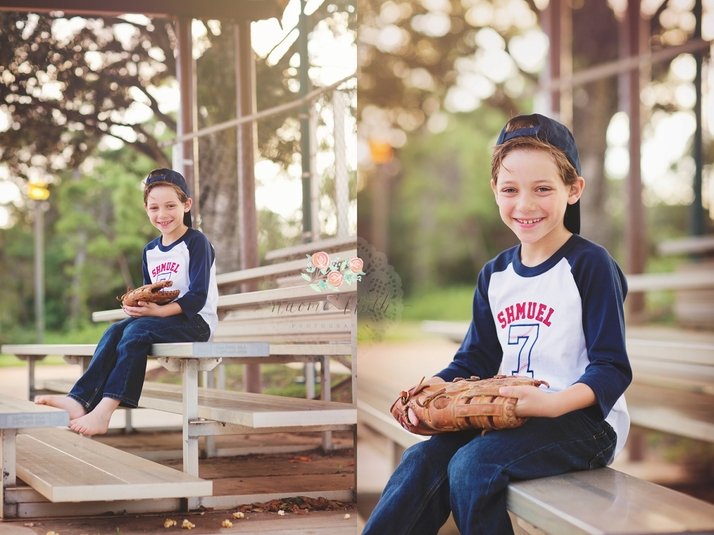 Boca Raton baseball portraits family photography