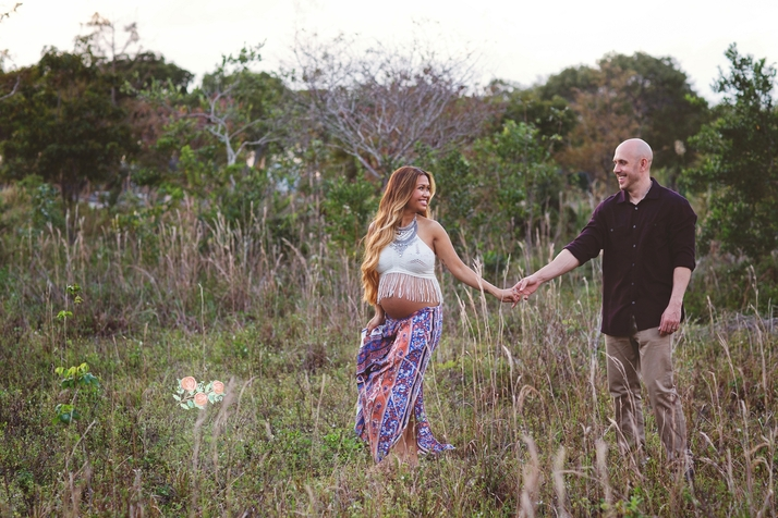Boca Raton maternity photography