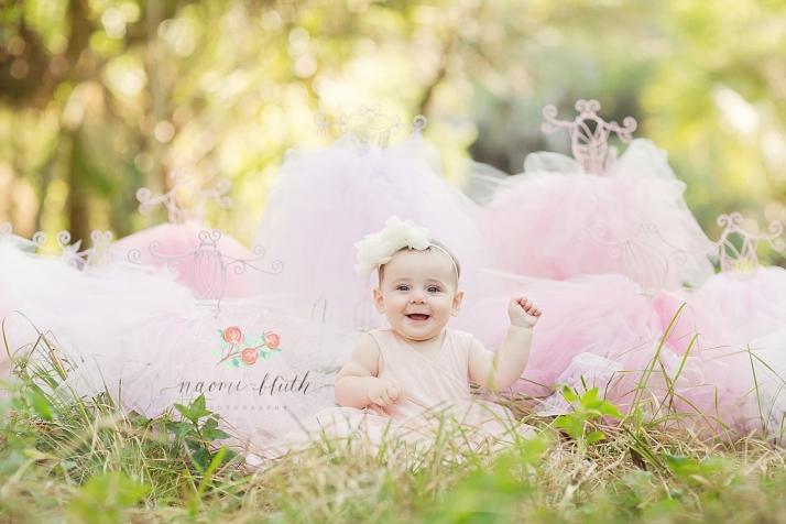 Delray baby photographer ballerina Naomi Bluth Photography