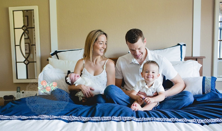 lifestyle newborn photoshoot in your home