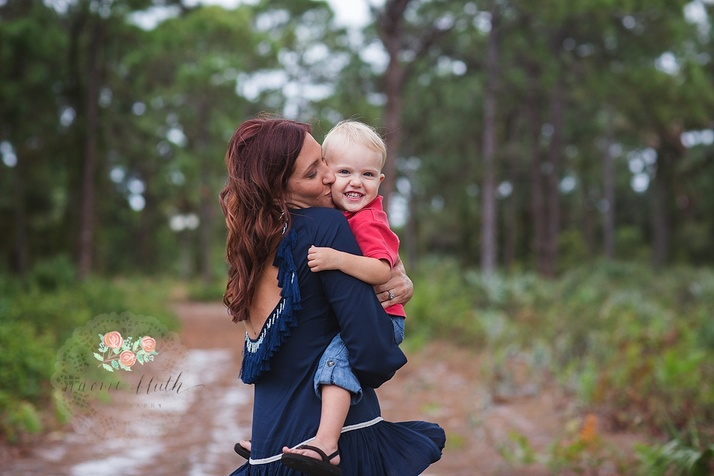 Coral Springs family portraits photo session