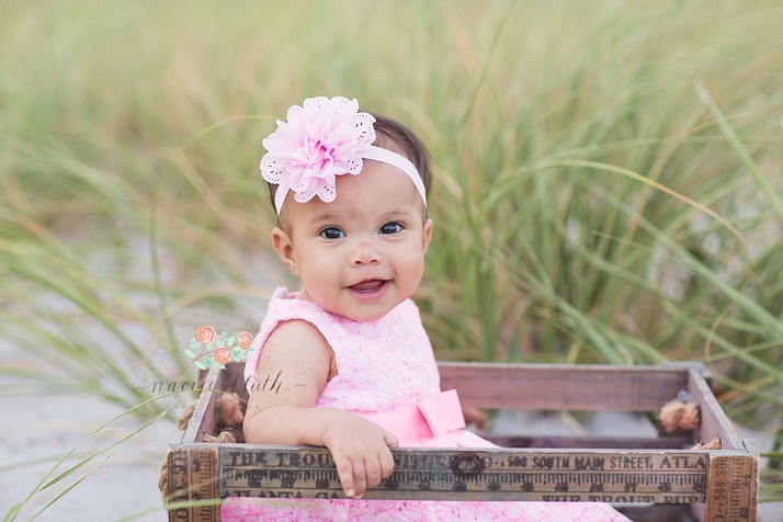 beach baby photographer portraits Coral Springs