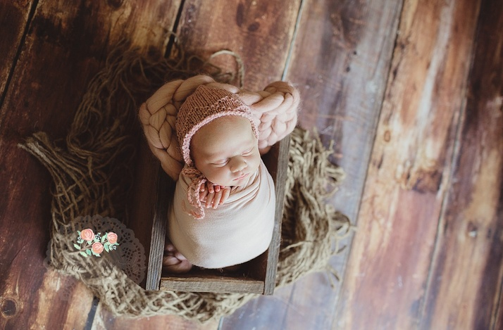 Boca Raton baby portraits newborn photography