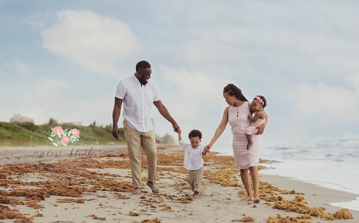 Lardarius Webb family photographer South Florida