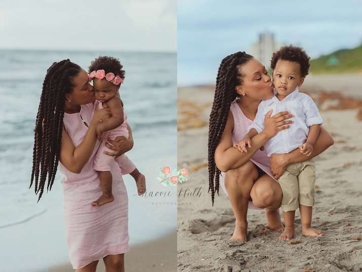 Boca Raton family photographer beach session