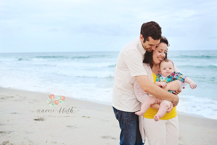Boca Raton beach family photos