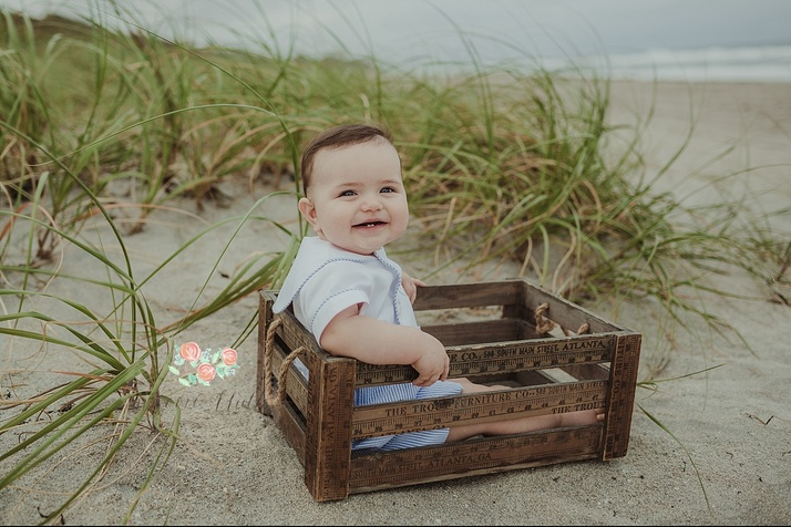 baby beach portraits Boca Raton
