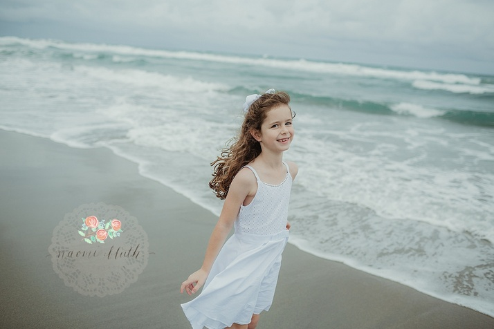 family beach portraits Boca Raton