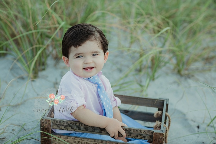 Fort Lauderdale beach baby photos