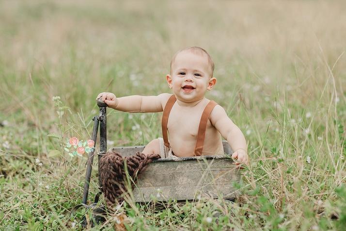 Boca Raton baby photo shoot