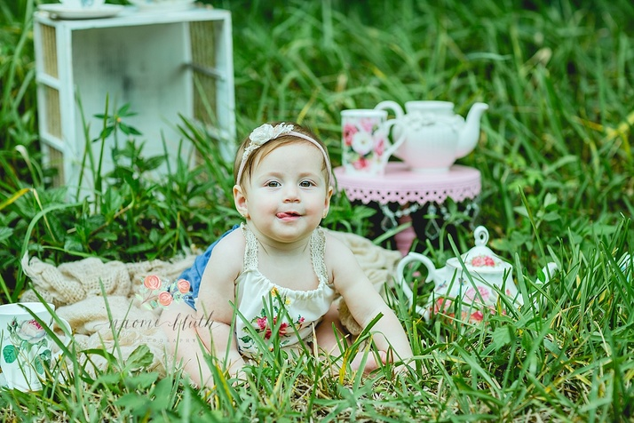 Boca Raton baby photo shoot