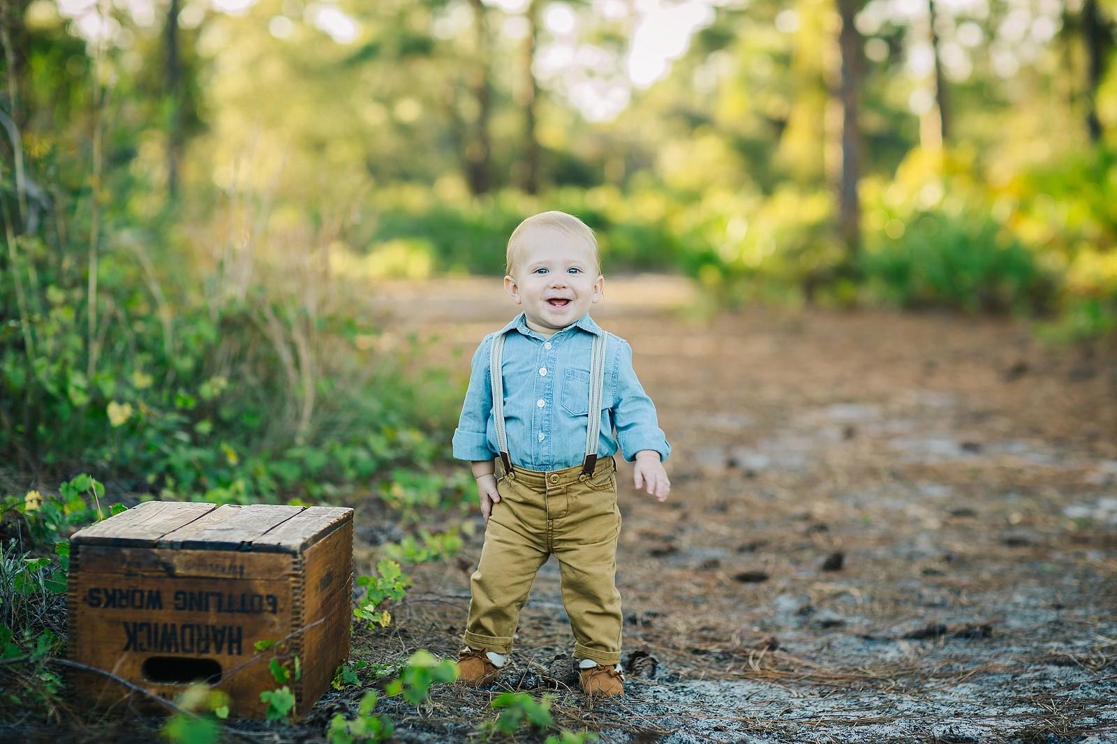 Boca Raton baby photo session