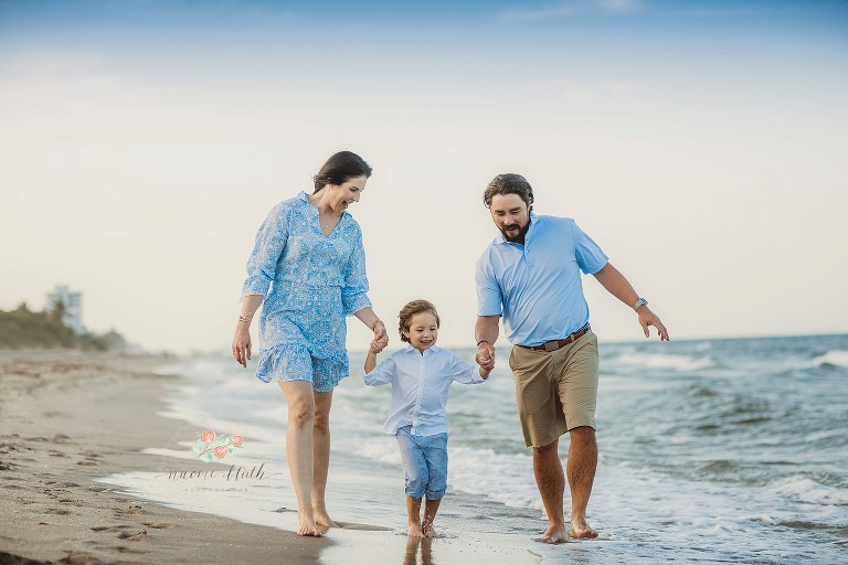 Delray beach family photo shoot