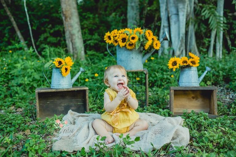 baby photo shoot in Boca Raton