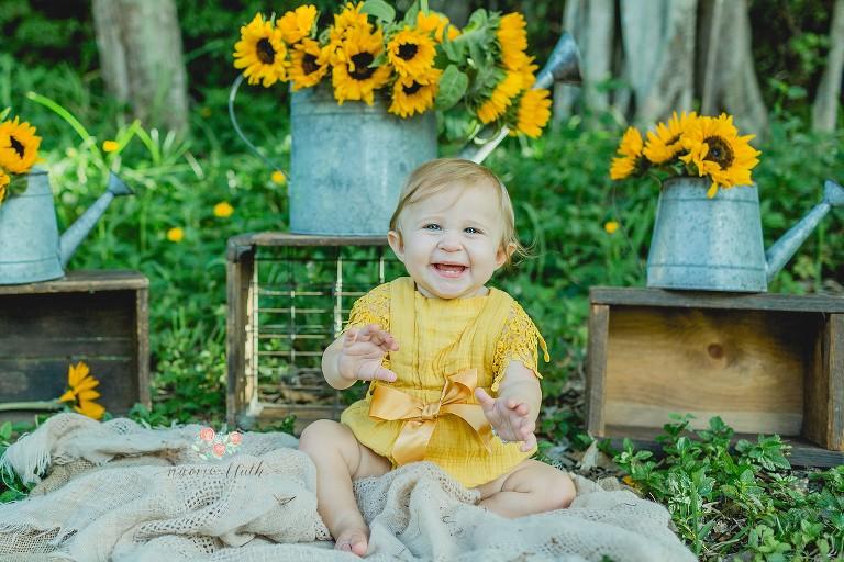 Delray Beach baby photo shoot